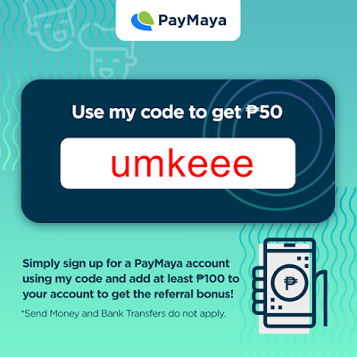 Use this PayMaya code and get P50