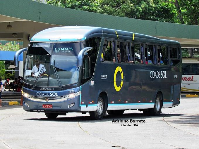 Conhecendo as linhas da Viação Cidade Sol! LINHA: 070 Salvador x Pedrão via Catu / Alagoinhas