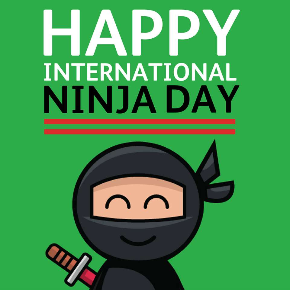 International Ninja Day Wishes Images download