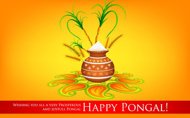 Happy Pongal 2017 New HD Wallpapers