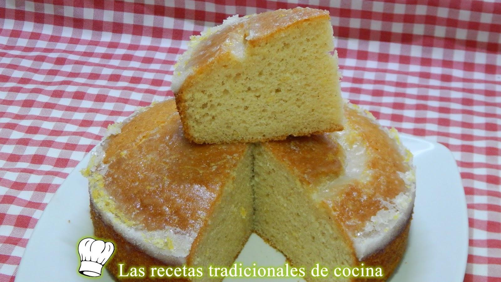 Receta Fácil De Bizcocho De Limón Y Canela Muy Esponjoso Y Con Glasa De Limón
