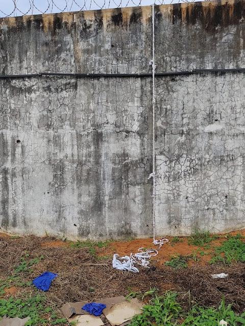 Seap envia nota à imprensa após fuga de presos da Penitenciária Estadual de Alcaçuz; veja fotos e nomes dos fugitivos