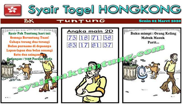 Prediksi Togel JP Hongkong Senin 02 Maret 2020 - Prediksi Pak Tuntung