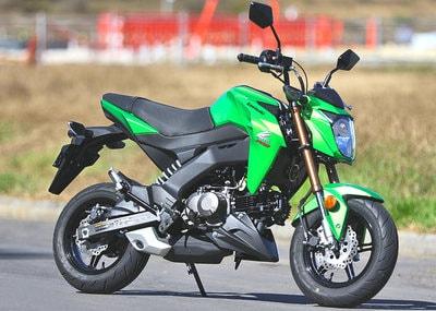 Motor Sport Kawasaki Z125