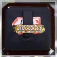 Cincin Berlian 3 Baris