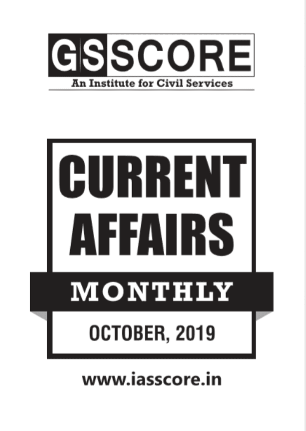 GS-Score-Current-Affairs-October-2019-For-UPSC-Exam-PDF-Book