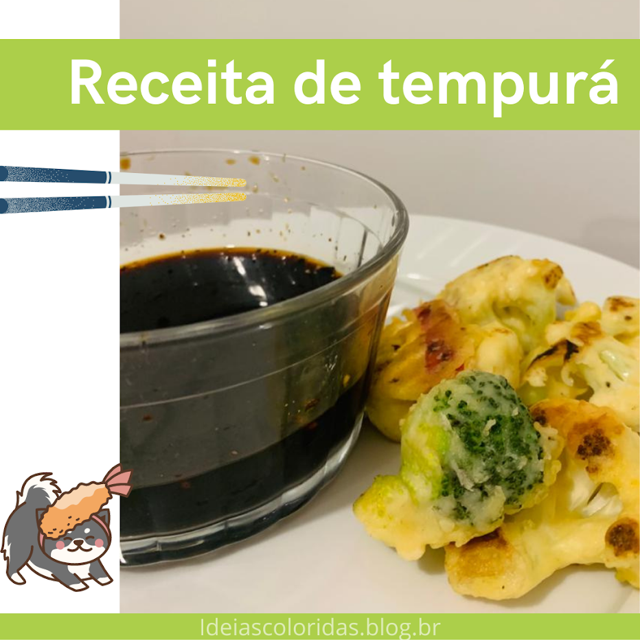 receita de tempurá