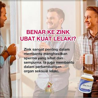 Ikhtiar Hamil Untuk Lelaki Dengan Produk Zinc Plus Shaklee