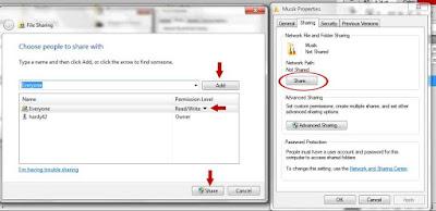 Cara Koneksi Dua Laptop Menggunakan Kabel LAN Di Windows 7