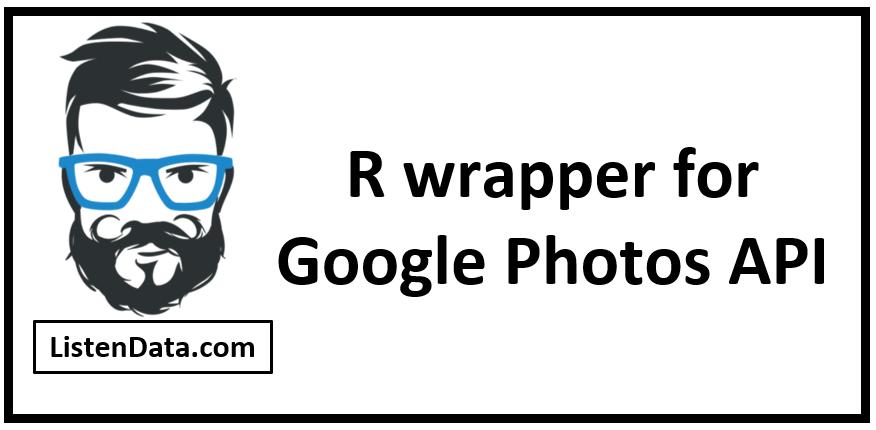 R wrapper for Google Photos API