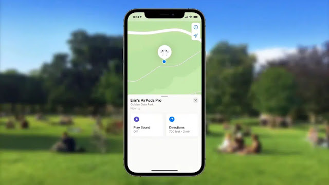iOS 15 links AirPods with Apple ID for precise location
