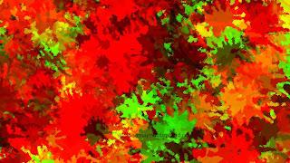 Color splatter wallpaper