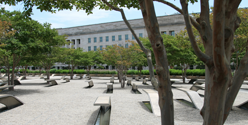 Pentagon Memorial Washington DC