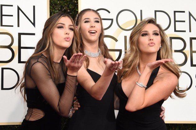 Golden globes 2017, Daughters of Sylvester Stallone