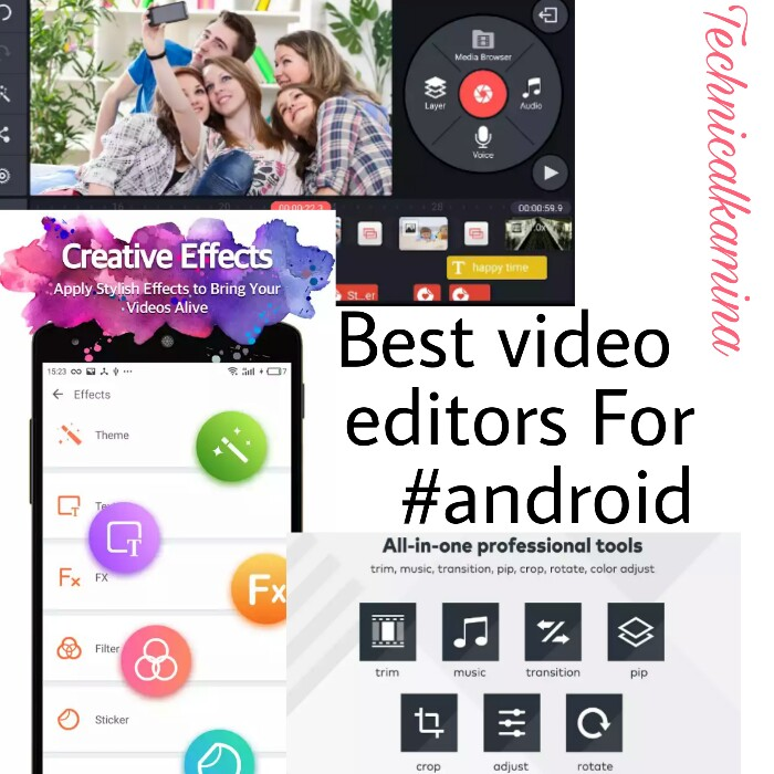best video editor for android 2017