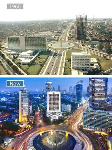 Foto Kota Besar Dunia Before After