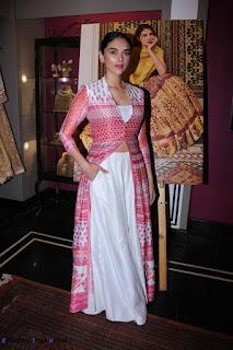 Aditi Rao Hydari beautiful lehenga at Anita Dongre Store Launch Event