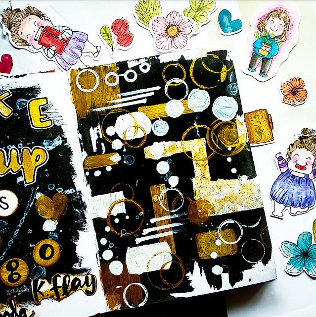 Contoh art therapy oleh ewafebri