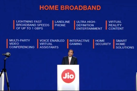 Reliance Jio GigaFiber to playing PUBG on TV through set-top box,common man gets these benefits