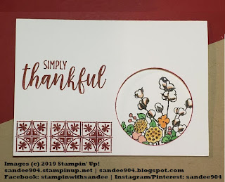 Challenge, Country Home, Punches, #simplestamping