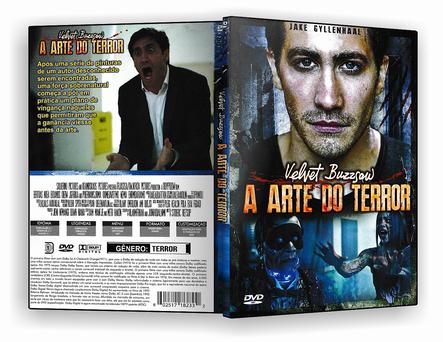 CAPA DVD – A ARTE DO TERROR – ISO
