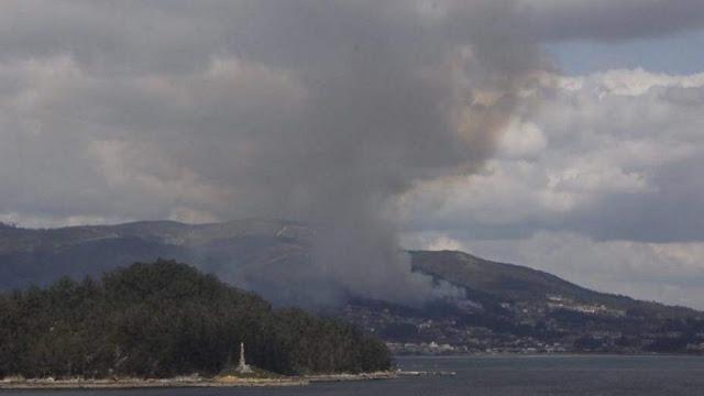 1978: Una gran oleada de incendios devoraba las inmediaciones de la ciudad de Pontevedra