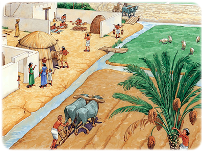 Ancient Egyptian irrigation methods