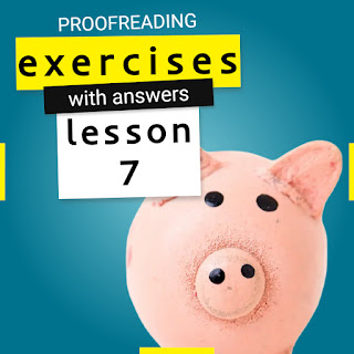 proofreading exercises with answers lesson 7 by Mr.Zaki | learn English