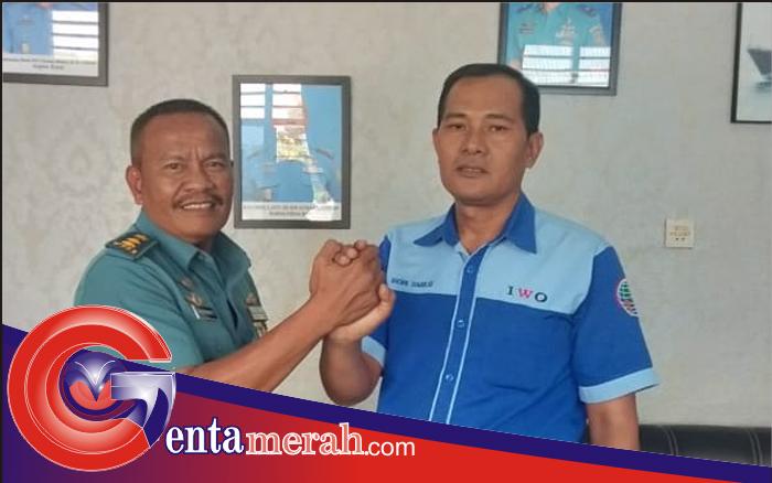Jalin Silaturahmi, Kakimal Lampung Siap Dukung Kemajuan IWO Lampura
