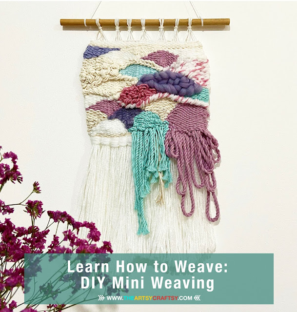 Learn How to Weave: DIY Mini Weaving Tutorial by Ana Ilyas