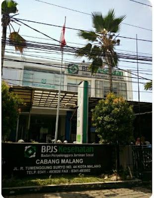 kantor bpjs kesehatan kota malang