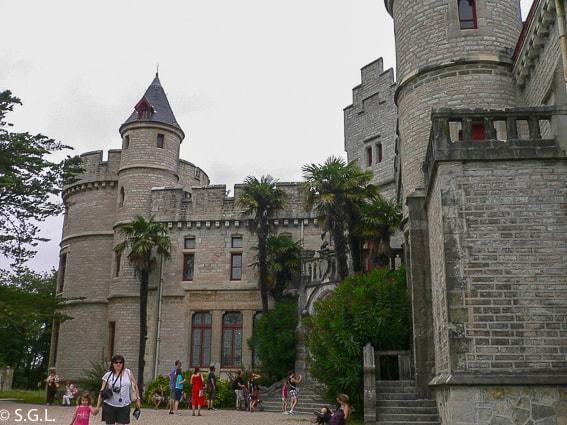 Detalle castillo de Abbadie. Hendaya