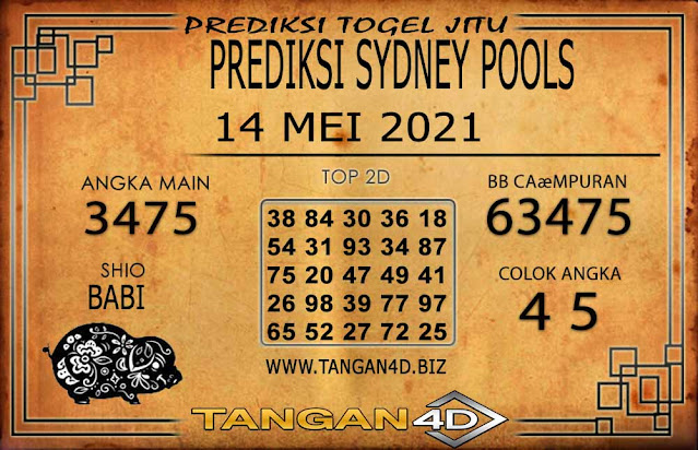 PREDIKSI TOGEL SYDNEY TANGAN4D 14 MEI 2021