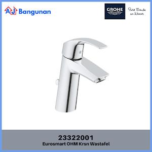 "GROHE Eurosmart Single-lever basin mixer 1/2"" M-Size ref 23322001"