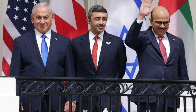 The United Arab Emirates and Bahrain have signed a landmark agreement with Israel
