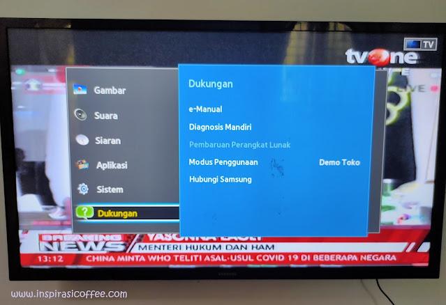 Setting TV Samsung 32 Inch