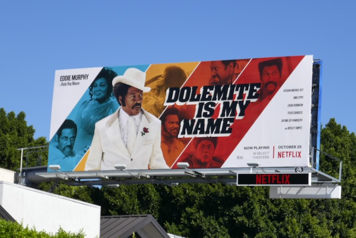 Dolemite Is My Name film billboard