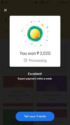 Google Pay Get Upto ₹2020 Before 31st December