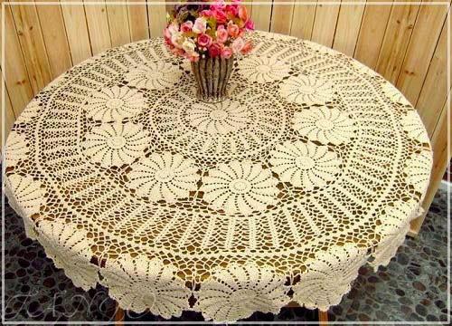 Decorilumina los 10 mejores manteles para mesas redondas for Manteles para mesas redondas