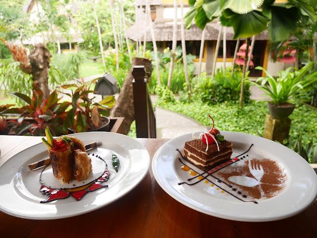 Dessert di The Lumbung Restaurant