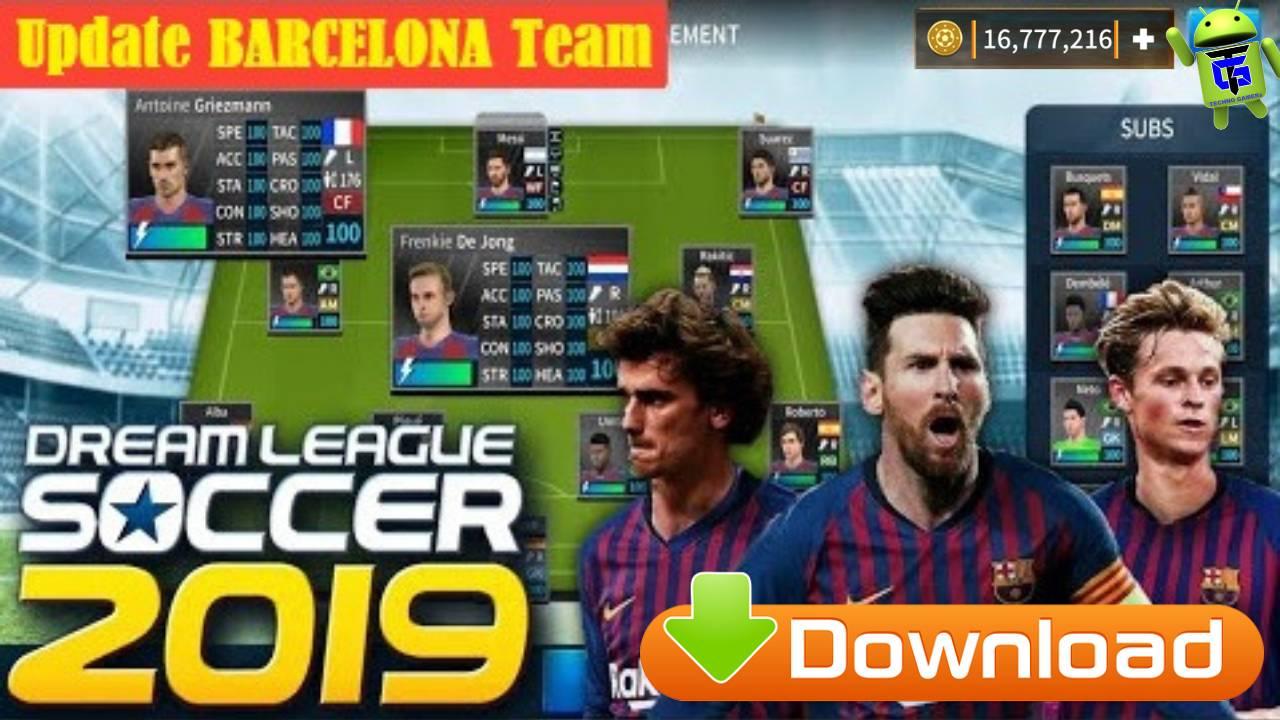 DLS 2019 APK – Download Dream League Soccer 19 Barcelona