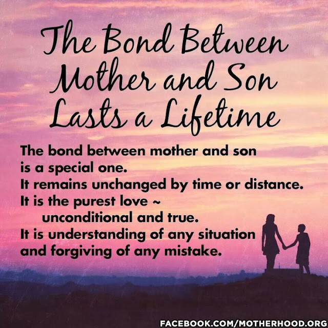 Short mother and son relationship lovely bond quotes sayings images