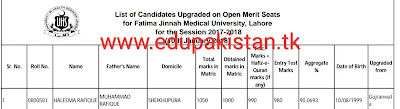 UHS( university of health sciences) has announced its third merit list.According to it the merit reduces to 0.01-0.05%.UHS MBBS 3rd merit list was announced on 11th January by university of health sciences Lahore.A number of students are promoted to better colleges and a few are able to get admissions in Government Medical colleges in year 2017 according to UHS MBBS 3rd merit list for secession 2017-2017.