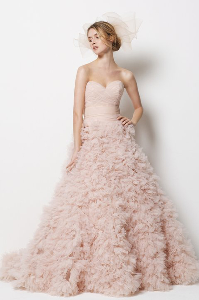 Wedding Trends Blush Wedding Dresses