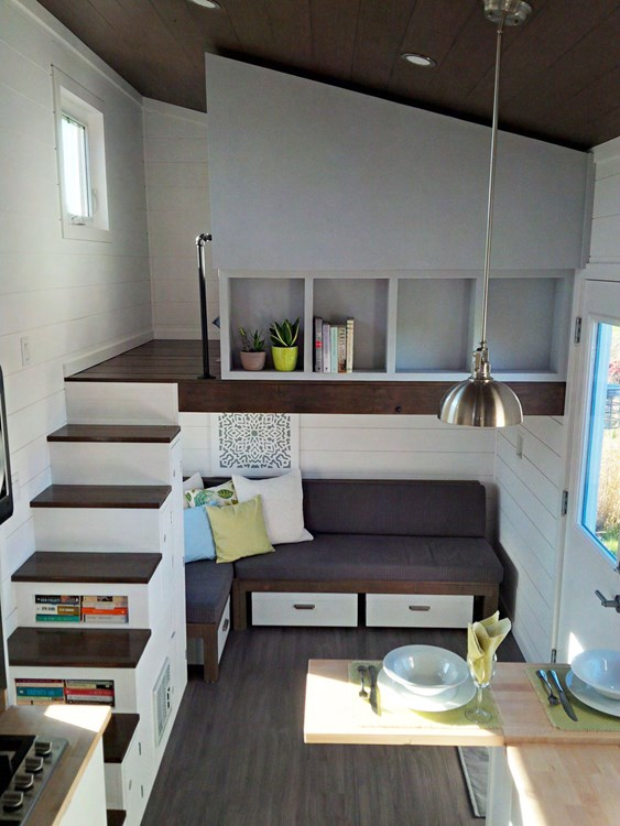Luxe Contemporary Tiny Home 264 Sq Ft Tiny House Town