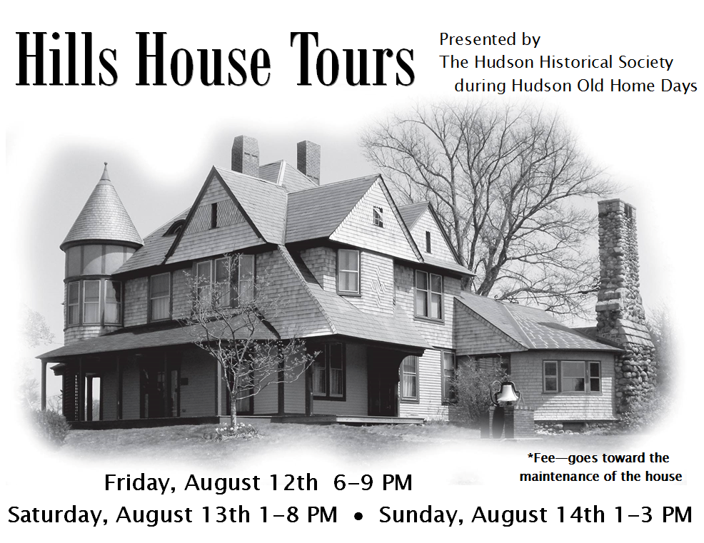 Hudson nh old home days historical hills house tours for Hudson house