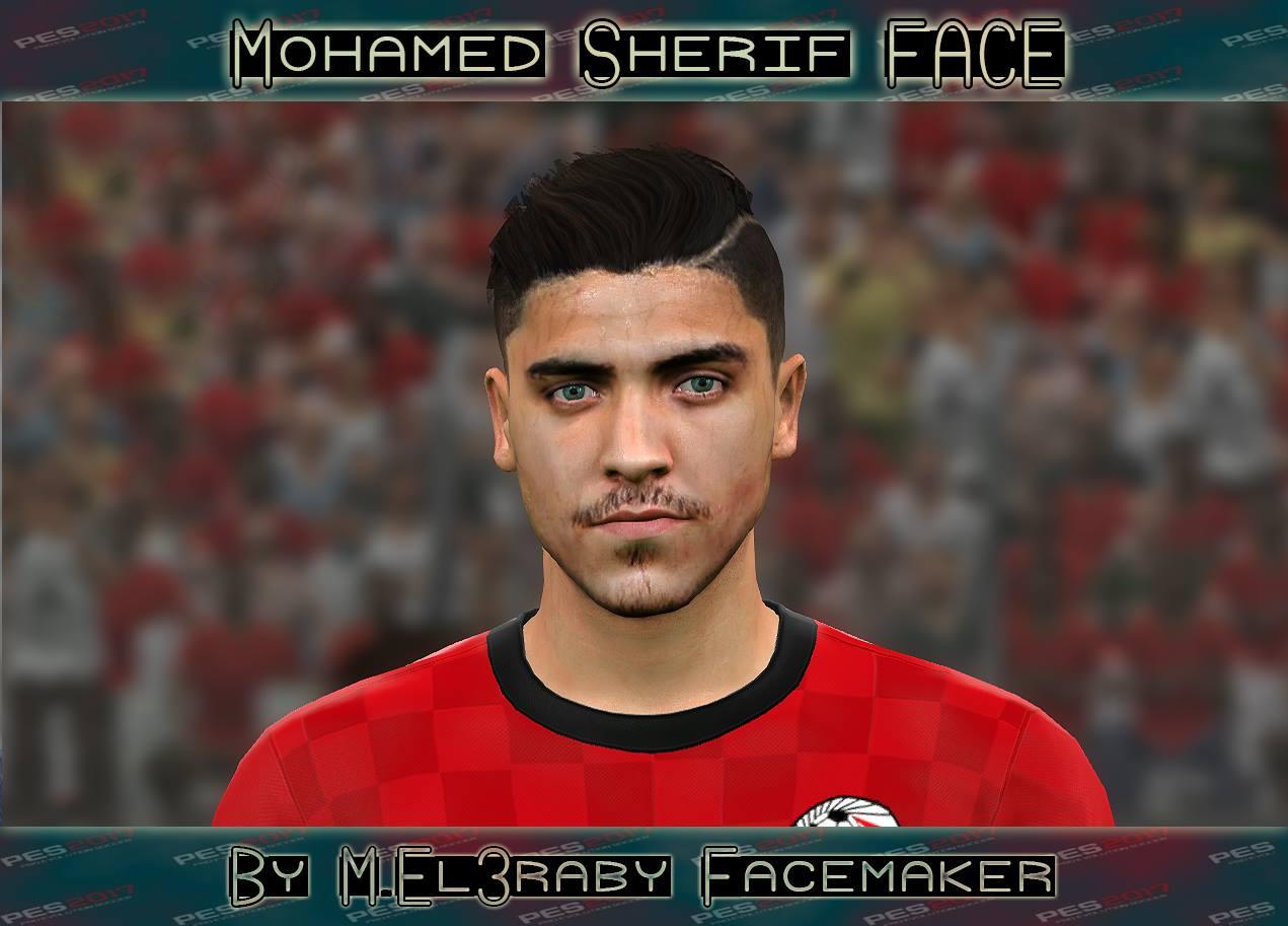 PES 2017 Mohamed Sherif (Al-Ahly) Face