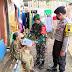 Sinergitas TNI Polri Bantu Beri Sembako Kepada Masyarakat Terdampak Corona