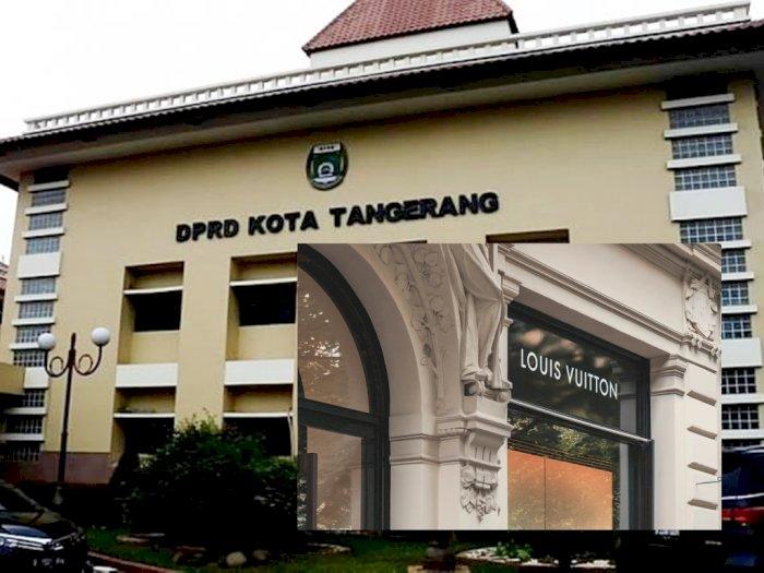 Gokil! Anggota DPRD Kota Tangerang Bakal Pakai Baju Dinas 'Louis Vuitton', Segini Anggarannya