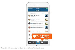 Cara Menambah Follower Instagram Tanpa Aplikasi